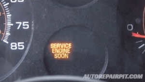 Engine Stall - Service Engine Soon Warning