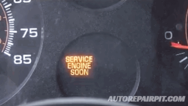 Engine Stall - Service Engine Soon Warning