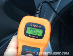 OBD II Scan Tool Misfire Detected