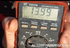 Charging Voltage Test