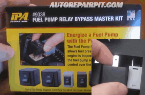 Fuel Pump Relay Master Kit Tool