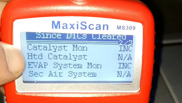 OBD Monitor Show Catalyst, EVAP Are Not Ready