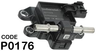 P0176 OBD II Trouble Code Fuel Composition Sensor Circuit