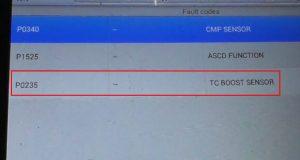 P0235 OBD II Trouble Code