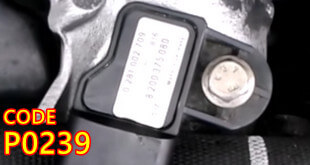 P0239 OBD II Trouble Code Featured