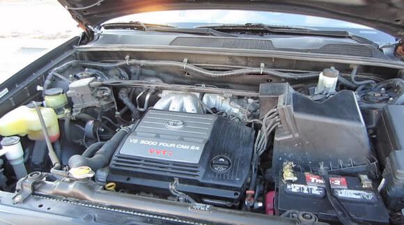 2003 Toyota Highlander Limited Engine