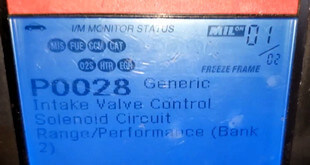 P0028 OBD II Trouble Code Featured