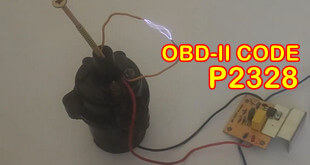 P2328 OBD II Trouble Code High Voltage Condition On Ignition Coil J Primary Control Circuit